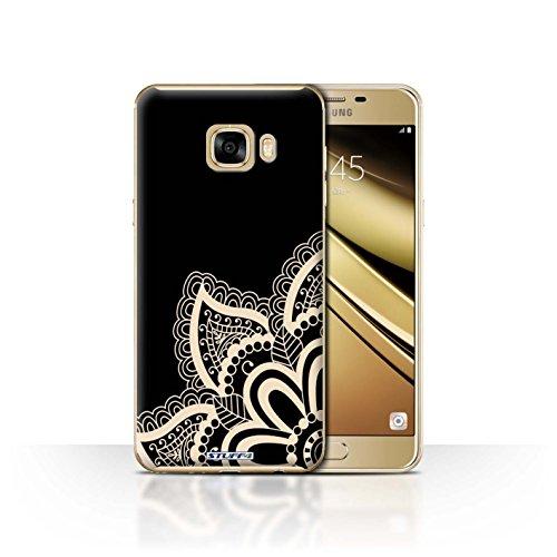 Stuff4 telefoonhoesje/hoes voor Samsung Galaxy C7 / Star Design/Henna Tattoo collectie