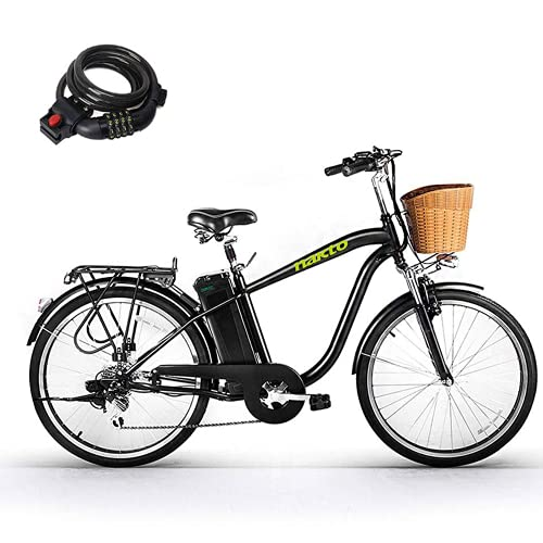 Nakto 250W Shimano 6-Speed Gear Electric Bicycle with 36V10Ah Lithium...