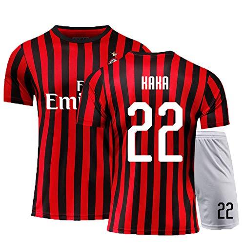 PUPPYY Milan9 # 10 # 13 # 19 # 21 # 22 # 20 – 21 (Home & Away) Fußballtrikot, Fußball-Geschenk Gr. M, 22#