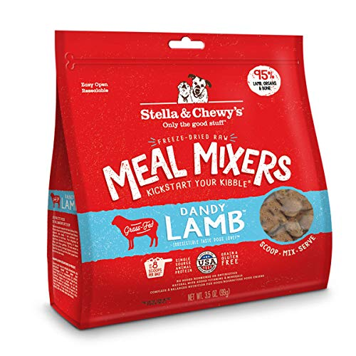 Stella And Chewy's Freeze-Dried Raw Dandy Lamb Meal Mixers...
