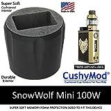 SnowWolf Mini 100W CUP HOLDER by CushyMod cover wrap skin sleeve case car mod vape kit