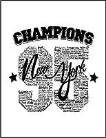 【FOX REPUBLIC】【ニューヨーク チャンピオン ロゴ】 白光沢紙(フレーム無し)A3サイズ