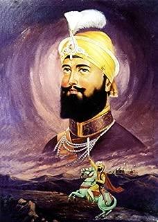 Imagekind Wall Art Print Entitled Guru Gobind Singh by Sikhphotos.Com Gallery   34 x 48