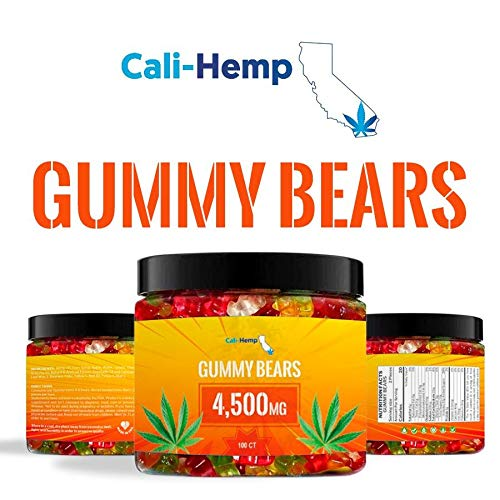 Hemp Gummies for Pain and Anxiety- Natural Hemp - Made in USA - 100 Count 4500 MG High Potency, Gummies Help Stress Relief -Tasty & Relaxing Premium Hemp - Rich in Vitamins B, E, Omega 3, 6, 9
