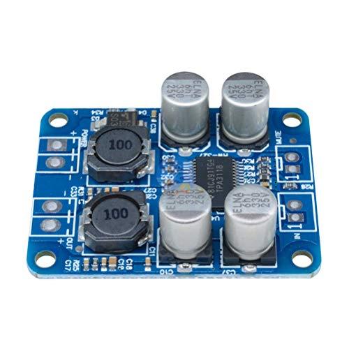 Release DC8-24V TPA3118 PBTL 60W Mono-Digital-Audioverstärkerplatine AMP-Modul-Chip 1X60W 4-8 Ohm Ersetzen Sie TPA3110 Für Arduino
