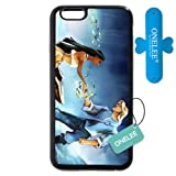 Customized Black Frosted Soft Rubber(TPU) Disney Princess Pocahontas iPhone 4.7 Case, Only fit iPhone 6 4.7'