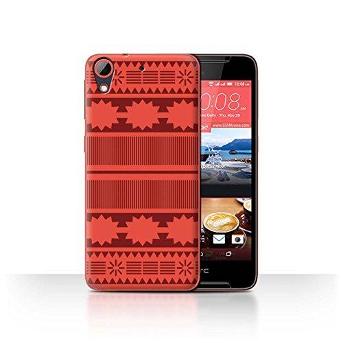 Stuff4® Hülle/Case für HTC Desire 628 / Aztek/Prinzessin Kleid Muster/Karikatur Polynesische Prinzessin Kollektion