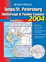 Streetfinder - Tampa/St. Petersburg // Hillsborough and Pinellas Counties (Rand McNally Tampa/St. Petersburg Street Guide: Including Hillsborou)