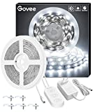 Minger Tira LED 5M Blanco Frío, Tiras LED Regulable Iliminición 2835 300 LED 6000K No Impermeable, Luces Kits Flexible para...