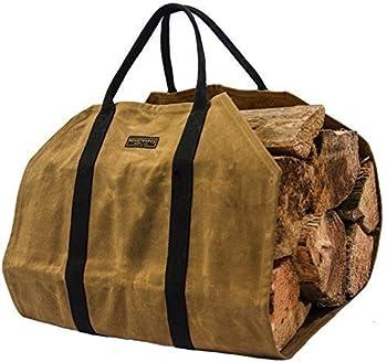 Readywares Waxed Canvas Firewood Log Carrier