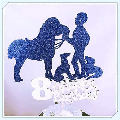 Decoración para tarta de vaquero para fiesta de vaquero, decoración para fiesta de vaquero, centro de mesa, fiesta de cumpleaños, decoración para niños