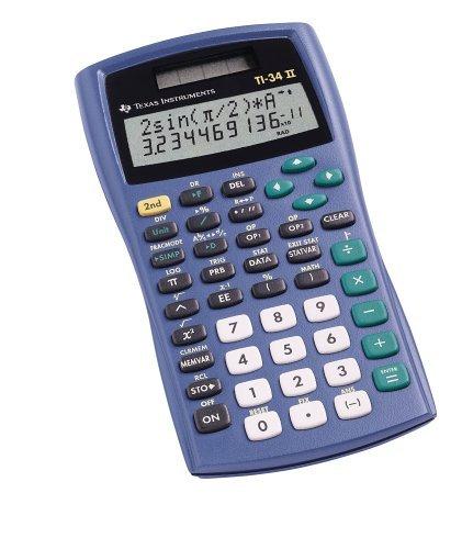 ti 34 ii calculator - 2