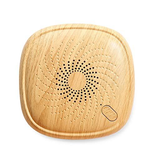 Ultraschall Milbencontroller, Entfernt effektiv Staubmilben Bettwanzen Allergie Pollen für Schlafzimmer, Wohnzimmer, Küche, kitchen Deckung,Brown