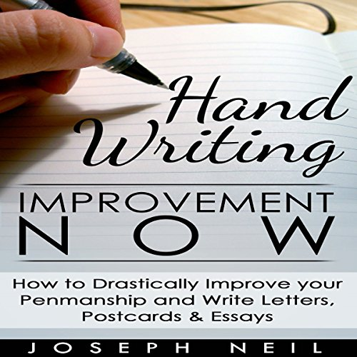 Handwriting Improvement Now audiobook cover art