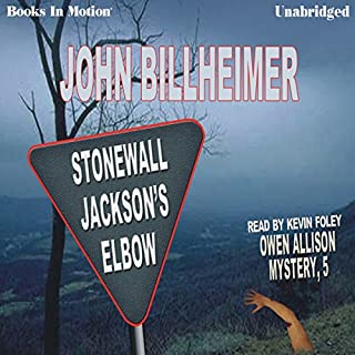 Stonewall Jackson's Elbow audiobook cover art