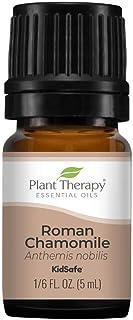 Plant Therapy Roman Chamomile Essential Oil 100% Pure, Undiluted, Natural Aromatherapy, Therapeutic Grade 5 mL (1/6 oz)