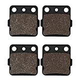 Cyleto Motorcycle Front Brake Pads for HONDA...