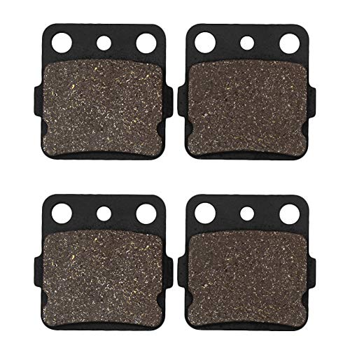 Cyleto Motorcycle Front Brake Pads for HONDA TRX420 Fourtrax Rancher 420 2007-2015
