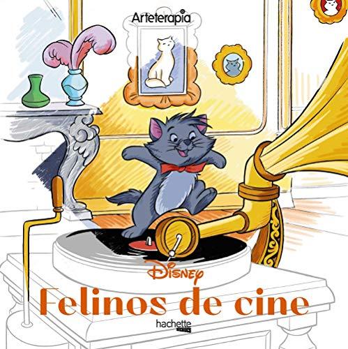 Arteterapia. Los cuadrados de Disney. Felinos de cine (Hachette HEROES - DISNEY - Arteterapia)