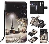 Lomogo Google Nexus 5X Leather Wallet Case with Kickstand