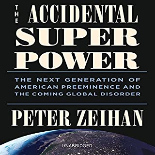 The Accidental Superpower audiobook cover art