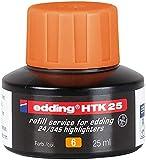 edding Nachfülltinte edding HTK 25, f.edding Highlighter, 25 ml, orange