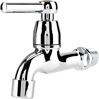 Water Faucet ABS Washing Machine Sink Basin Cold Water Tap with Single Spout Tail Handle (#2)