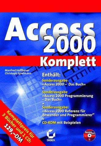 Access 2000 - Das Buch + Programmierung