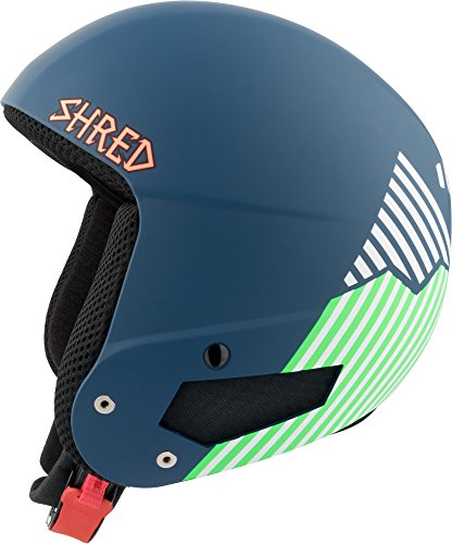 Shred Herren Helm Mbb Rh Needmoresnow, Navy Blue/Green, XS/S