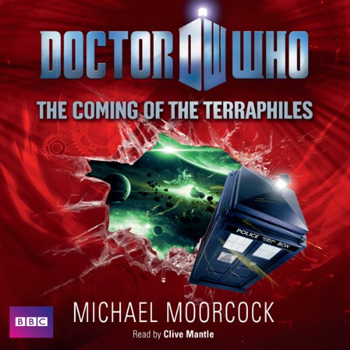 Doctor Who: The Coming of the Terraphiles audiobook cover art