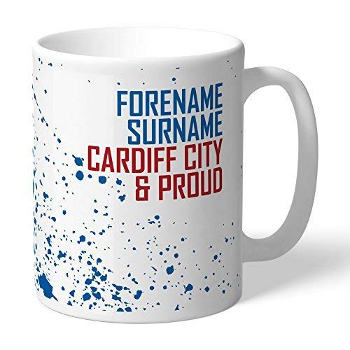 Content Gateway Official Personalised Cardiff City FC Proud Mug