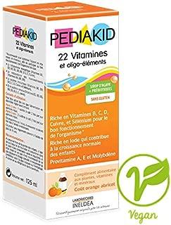 Pediakid 22 vitamins and minerals 4.17 fl oz (125 ml)