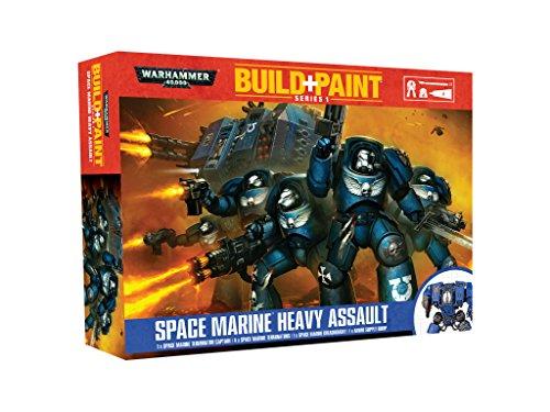 Revell 00080 Warhammer 40000 Space Marine - Set di pittura per assalto pesante