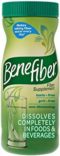 Benefiber Daily Prebiotic Dietary Fiber Supplement Powder for Digestive Health, 100%..
