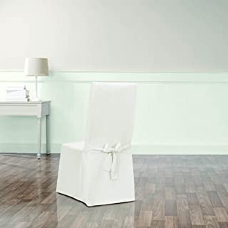 Sure Fit Essential Tailored Twill Dining Chair Slipcover
