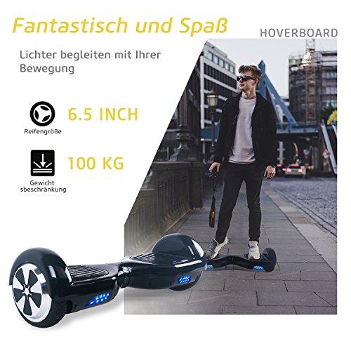 Hoverboard BEBK Zoll Self Balancing Bild 4*
