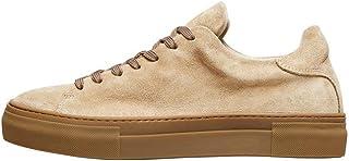 Selected HOMME - Sneakers da uomo, in pelle scamosciata compatta