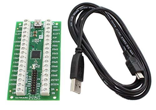 I-PAC 2 Arcade Game Controller Interface with USB Cable