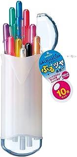 サクラクレパス 水性ボールペン ボールサイン アクアリップ 10色 PGB10G