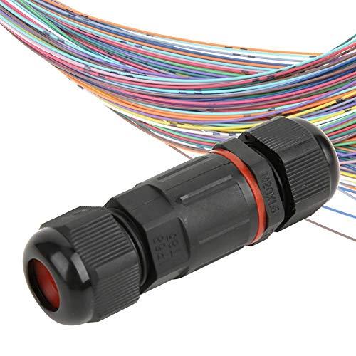 Conector de cable, IP68 Caja de cable de unión de 3 núcleos...
