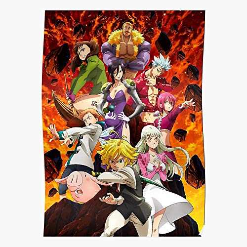 4 5 Judgment 1 Deadly Episode Wrath Of The Fury Season Seven Trailer Angers Sins Judgement Studio Gods for Home Wall Decor Ready to decoration