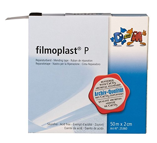 Filmoplast P unsichtbares Buchreparatur-Klebeband [D&M]