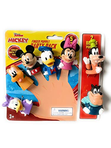 Mickey Mouse & Friends Party Pack 7 Puppets !!!