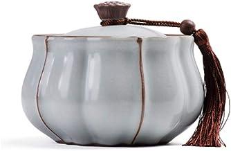 PPCP Funeral Urn Mini Cremation urns Human Ashes urn Mini Cylinder Pet ash Storage Tank Sealed Against Moisture Ceramic Ma...