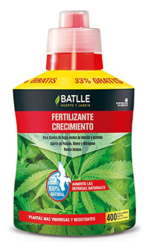 Abonos - Fertilizante Ecoyerba Crecimiento 400ml - Batlle: Amazon ...