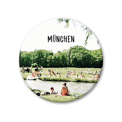 PICKMOTION Medium M-Magnete München Isar, Neodym, Mehrfarbig, ⌀ 5,6 cm