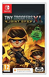 Relive the original campaigns from Tiny Troopers & Tiny Troopers 2: spec Ops with over 60 action packed missions use the touch screen or twin stick Arcade control system to blast your way through waves of enemy rebels brainsssssss ! Fight for your li...