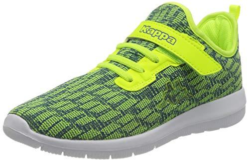 Kappa Gizeh Sneaker, Grün (3360 Lime/Blue), 33 EU