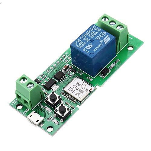 ILS - 5V WiFi afstandsbediening garagedeuropener controller werkt met Alexa & IFTTT Google naar huis draadloze afstandsbediening