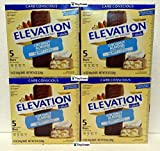 Elevation by Millville Protein Bars Carb Conscious Coconut Almond 8oz 220g (Pack of Four)